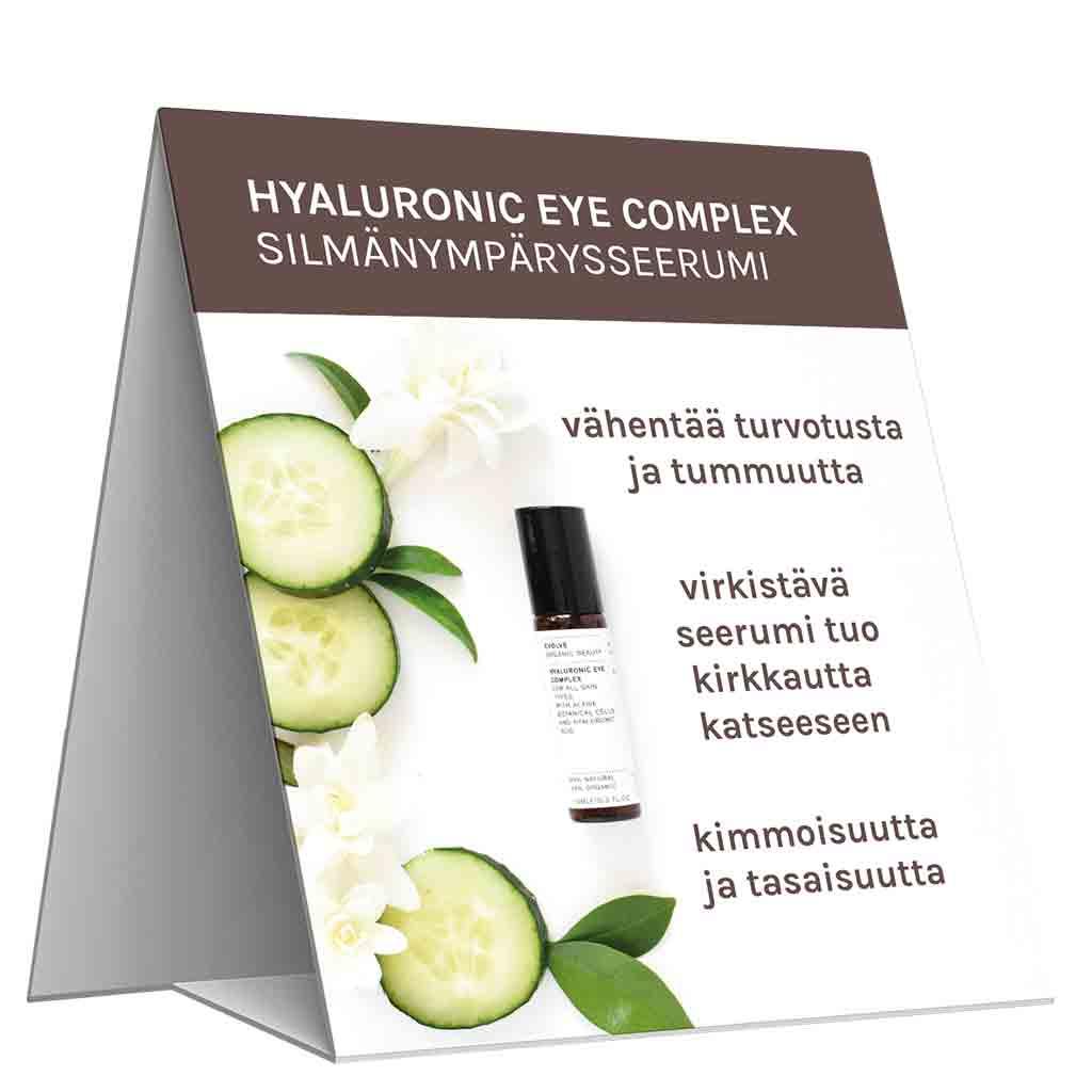 Evolve Organic Beauty Hyllypuhuja Hyaluronic Eye Complex