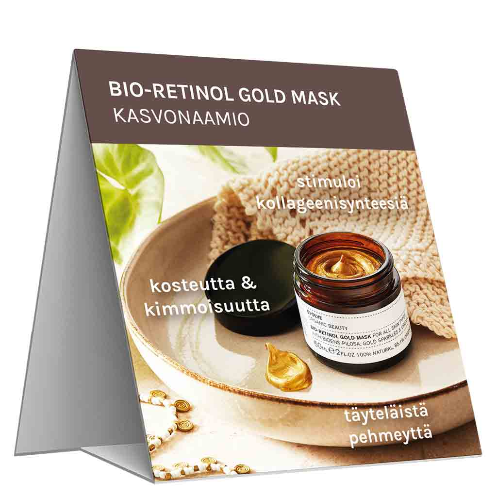Evolve Organic Beauty Hyllypuhuja Bio-Retinol Gold Mask