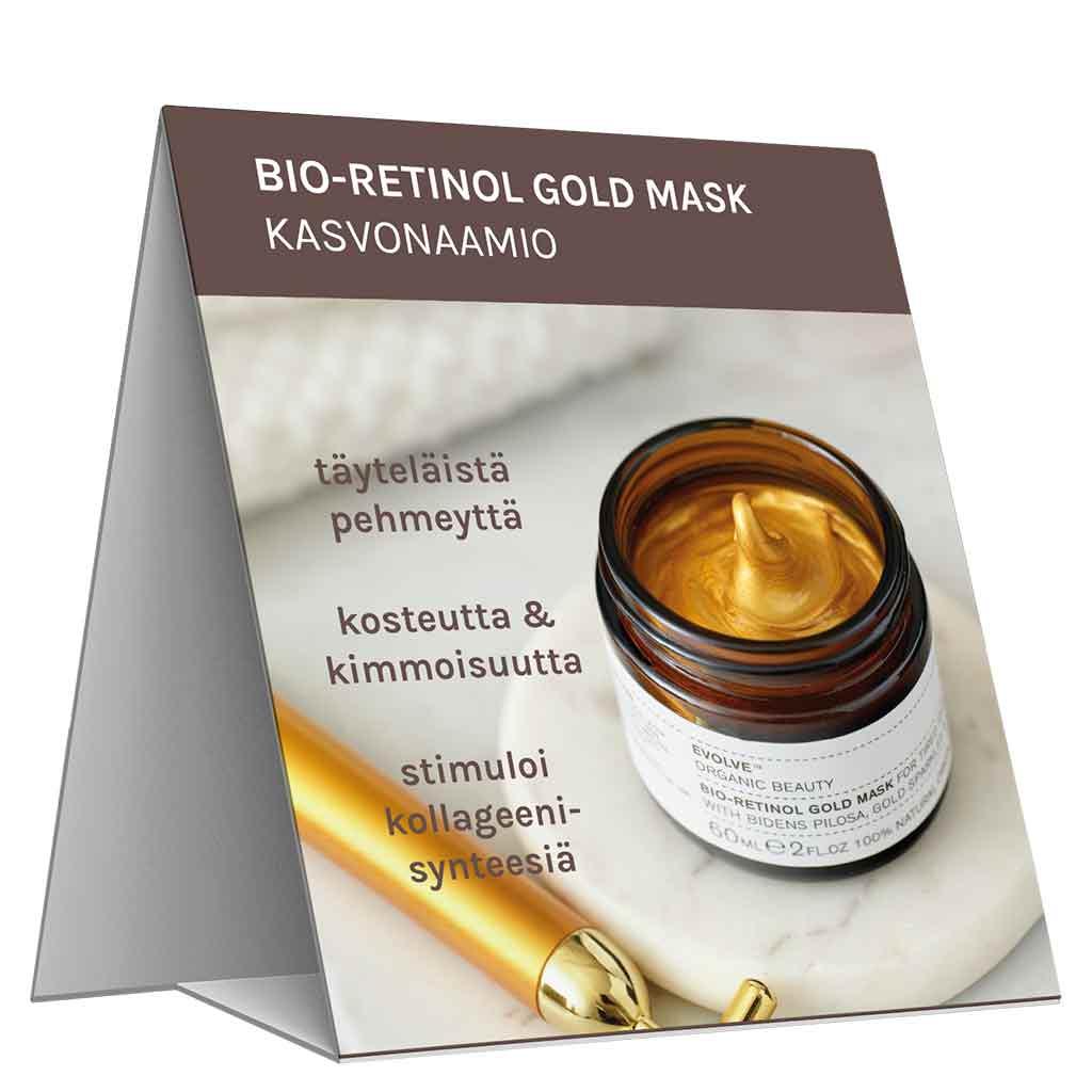 Evolve Organic Beauty Hyllypuhuja Bio-Retinol Gold Mask