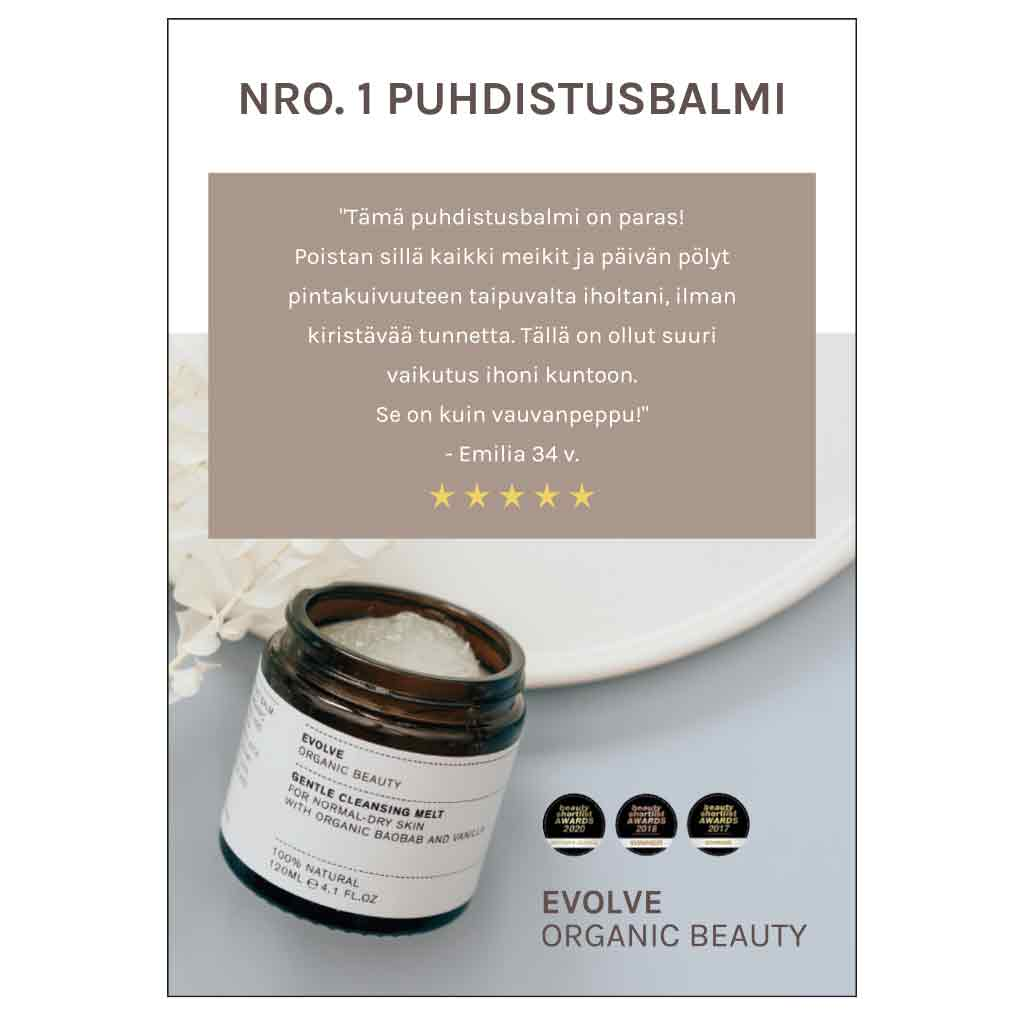 Evolve Organic Beauty Esite Gentle Cleansing Melt