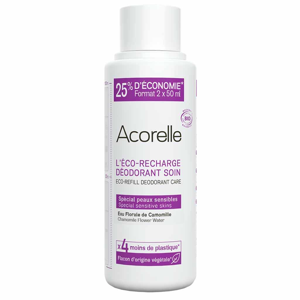 Acorelle Sensitive Deodorantti Refill Täyttöpakkaus 100 ml