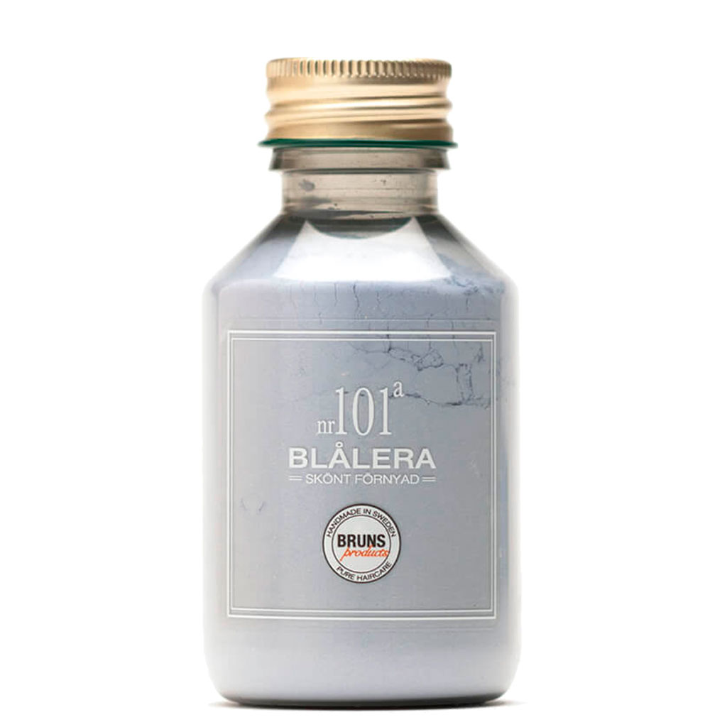 BRUNS Products Nr101a Blue Clay Savinaamio Hiuspohjalle ja kasvoille 80 g