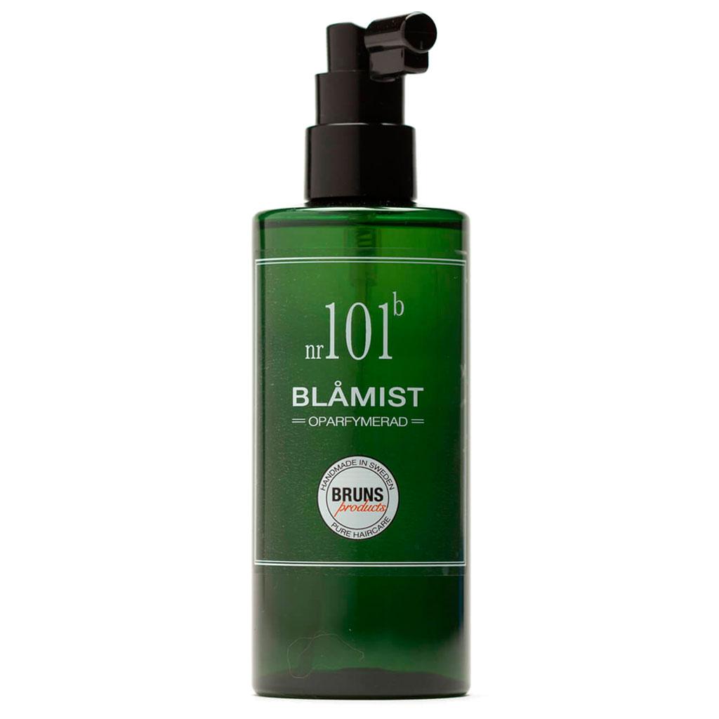 BRUNS Products Nr101b Unscented Blue Mist Hajusteeton Suihke Hiuspohjalle ja kasvoille 200 ml