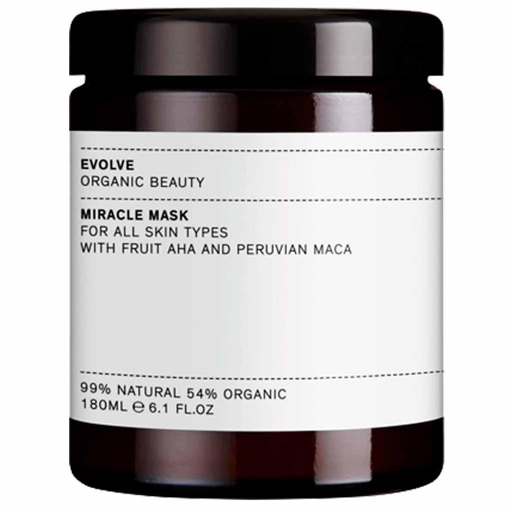 Evolve Organic Beauty Miracle Mask AHA Kuoriva hedelmähapponaamio 120 ml Ammattikoko