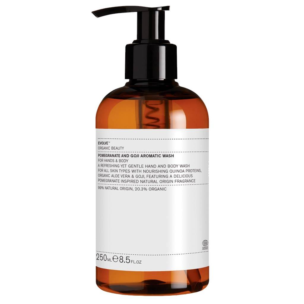 Evolve Organic Beauty Pomegranate and Goji Aromatic Wash Vartalonpesuaine