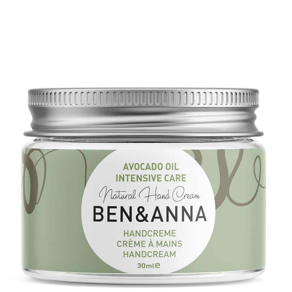 Ben & Anna Avocado Oil Intensive Care Hand Cream Käsivoide 30 ml