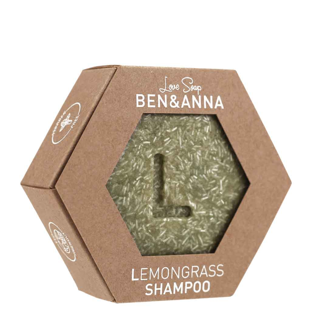 Ben & Anna Lovesoap Lemongrass Shampo