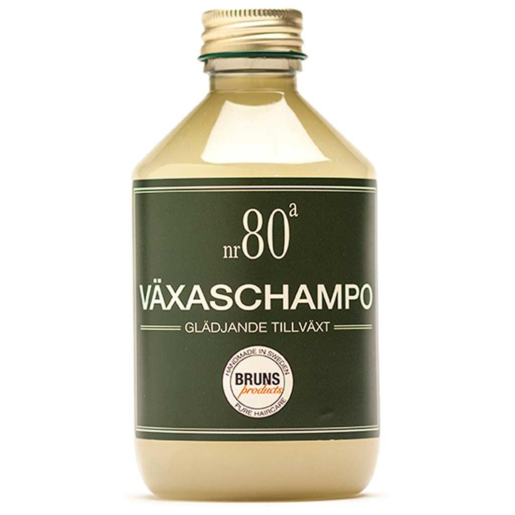 BRUNS Products 80a Joyful Growth Shampoo Hiusten kasvua edistävä shampoo 330 ml