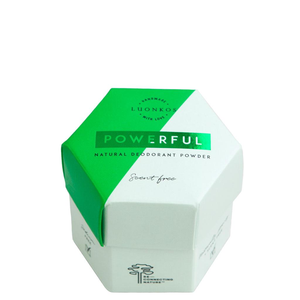 Luonkos Powerful Deodorantpulver 50 g
