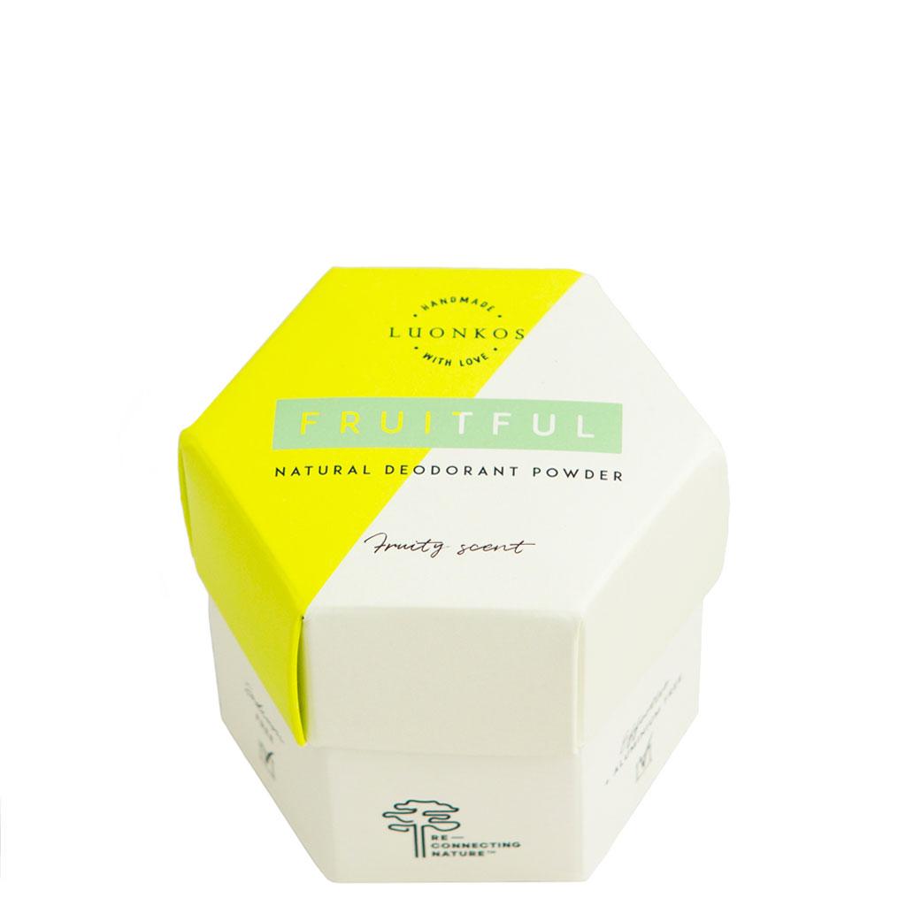 Luonkos Fruitful Natural Deodorant Powder Jauhedeodorantti 50 g