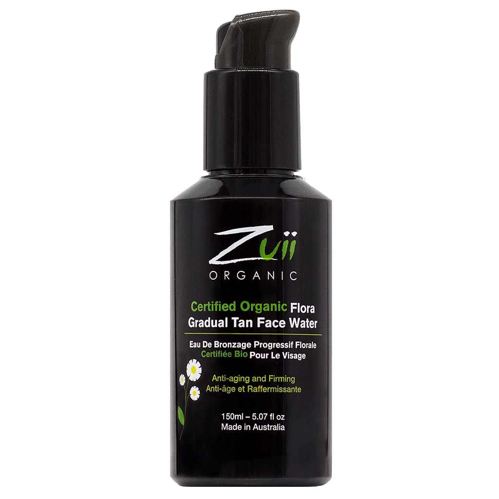 Zuii Organic Gradual Tan Face Water Itseruskettava Kasvovesi Kasvoille 150 ml