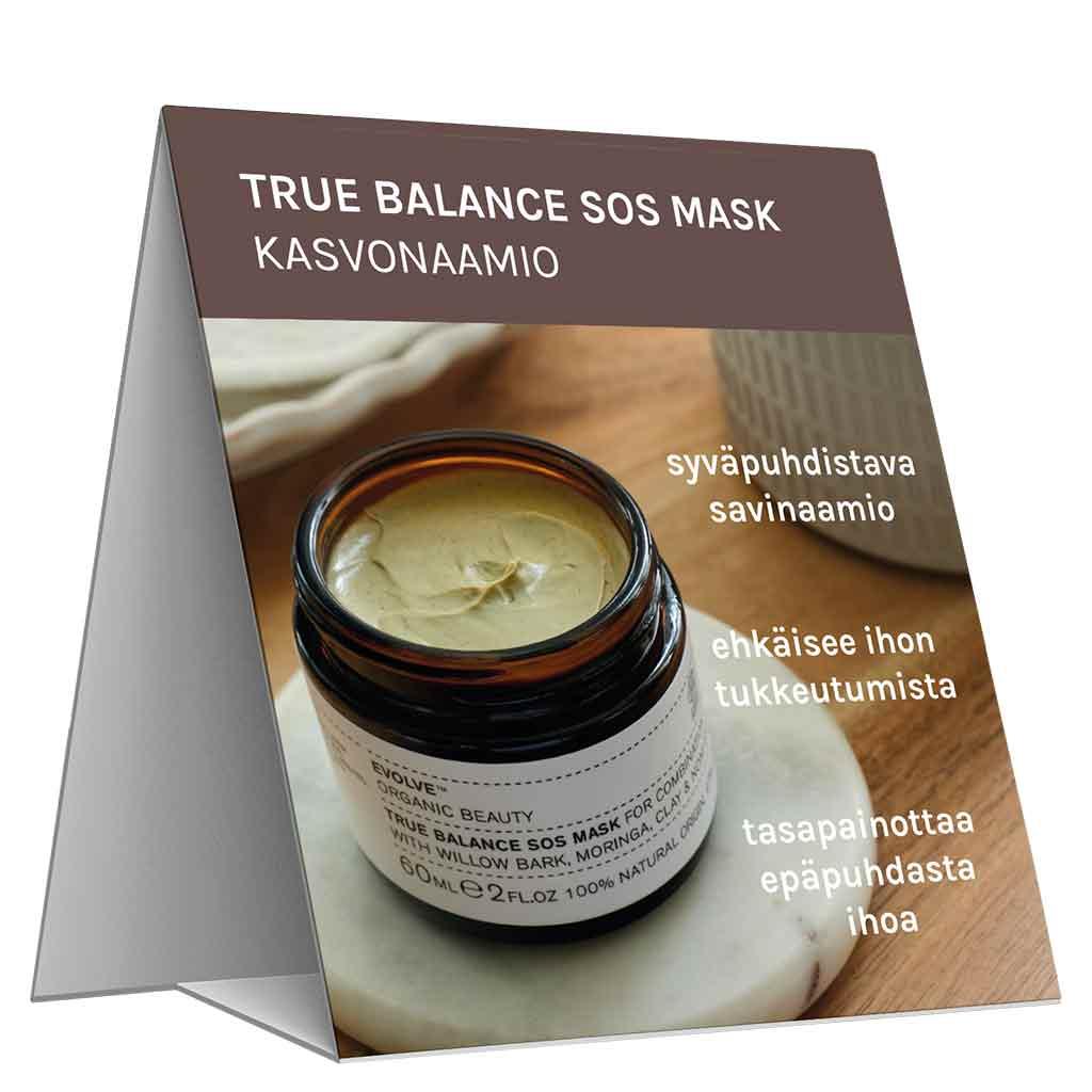 Evolve Organic Beauty Hyllypuhuja True Balance SOS Mask