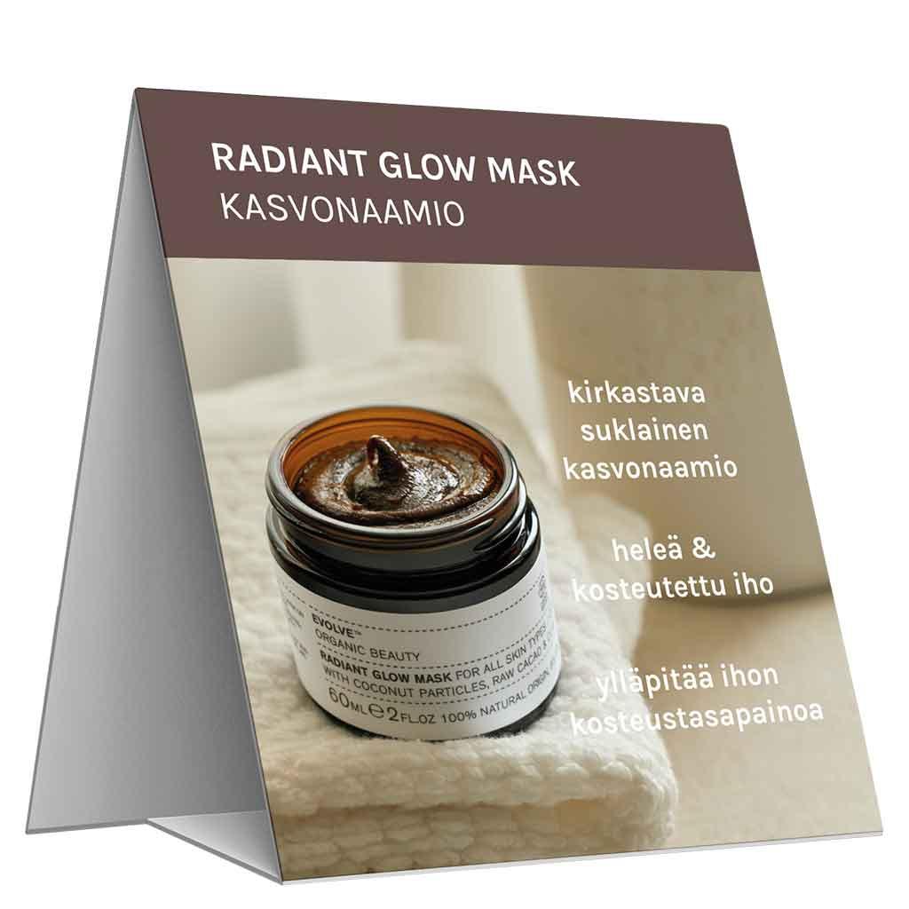 Evolve Organic Beauty Hyllypuhuja Radiant Glow