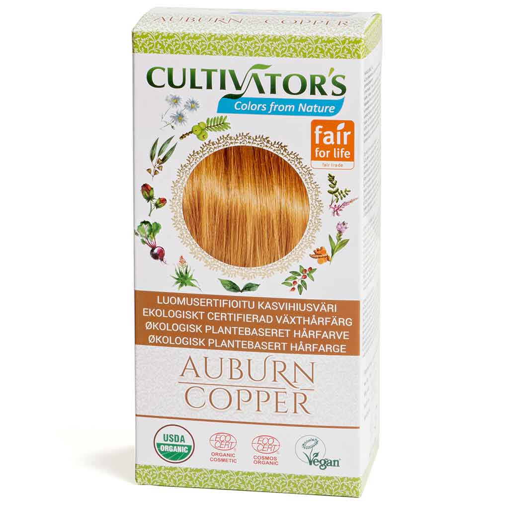Cultivator's Hair Color - Auburn Copper 100g *