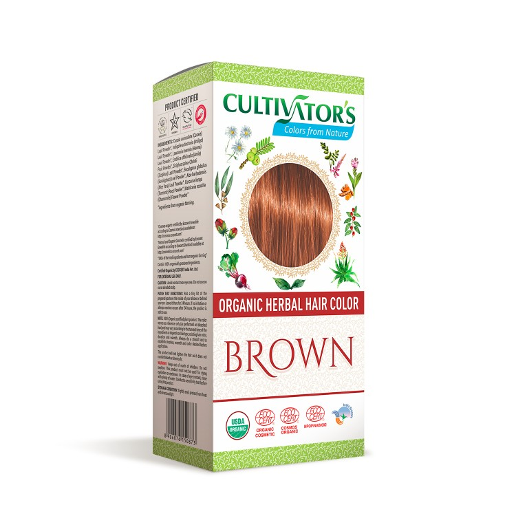 Cultivator's Hair Color - Brown 100g *