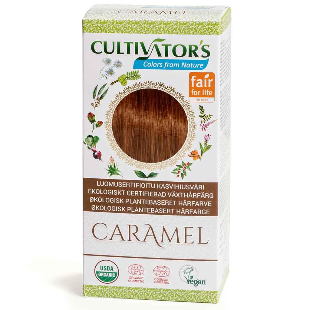 Cultivator's Hair Color - Caramel 100g *
