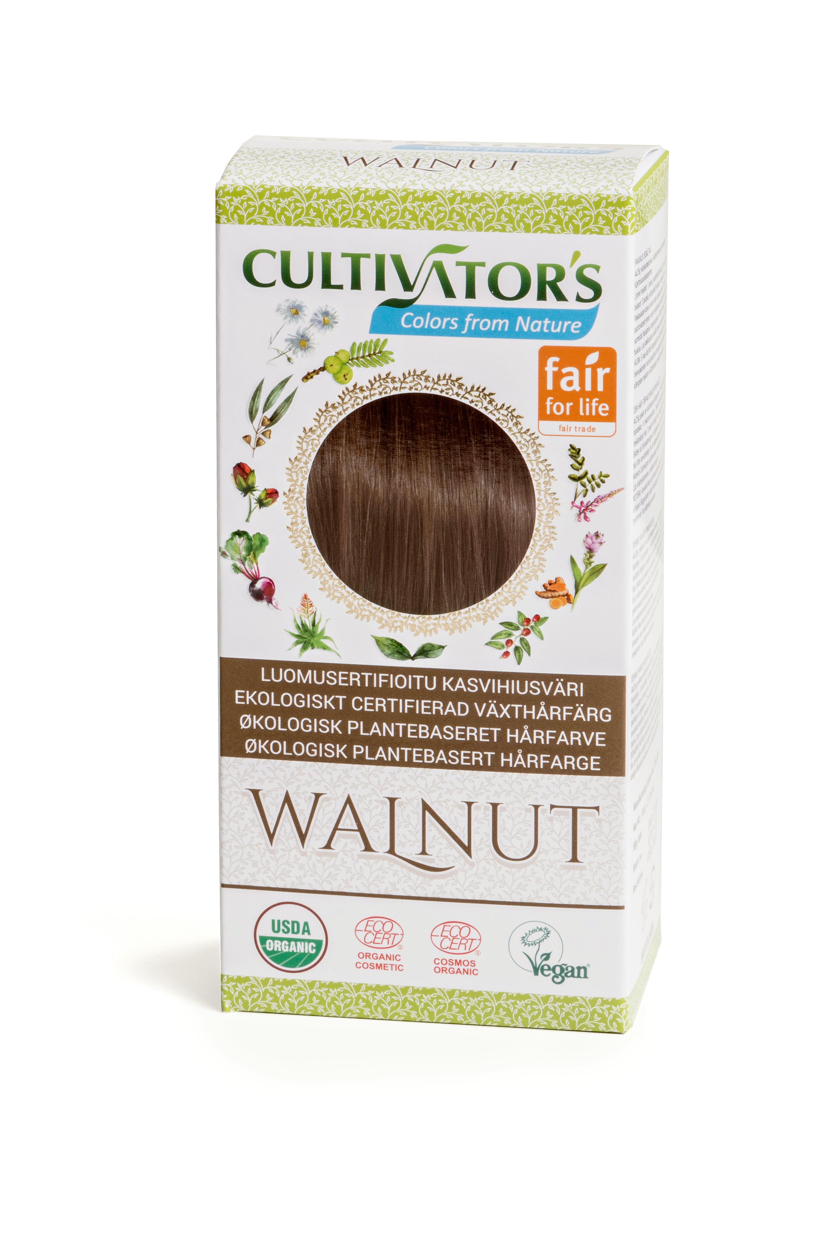 Cultivator's Hair Color - Walnut 100g *