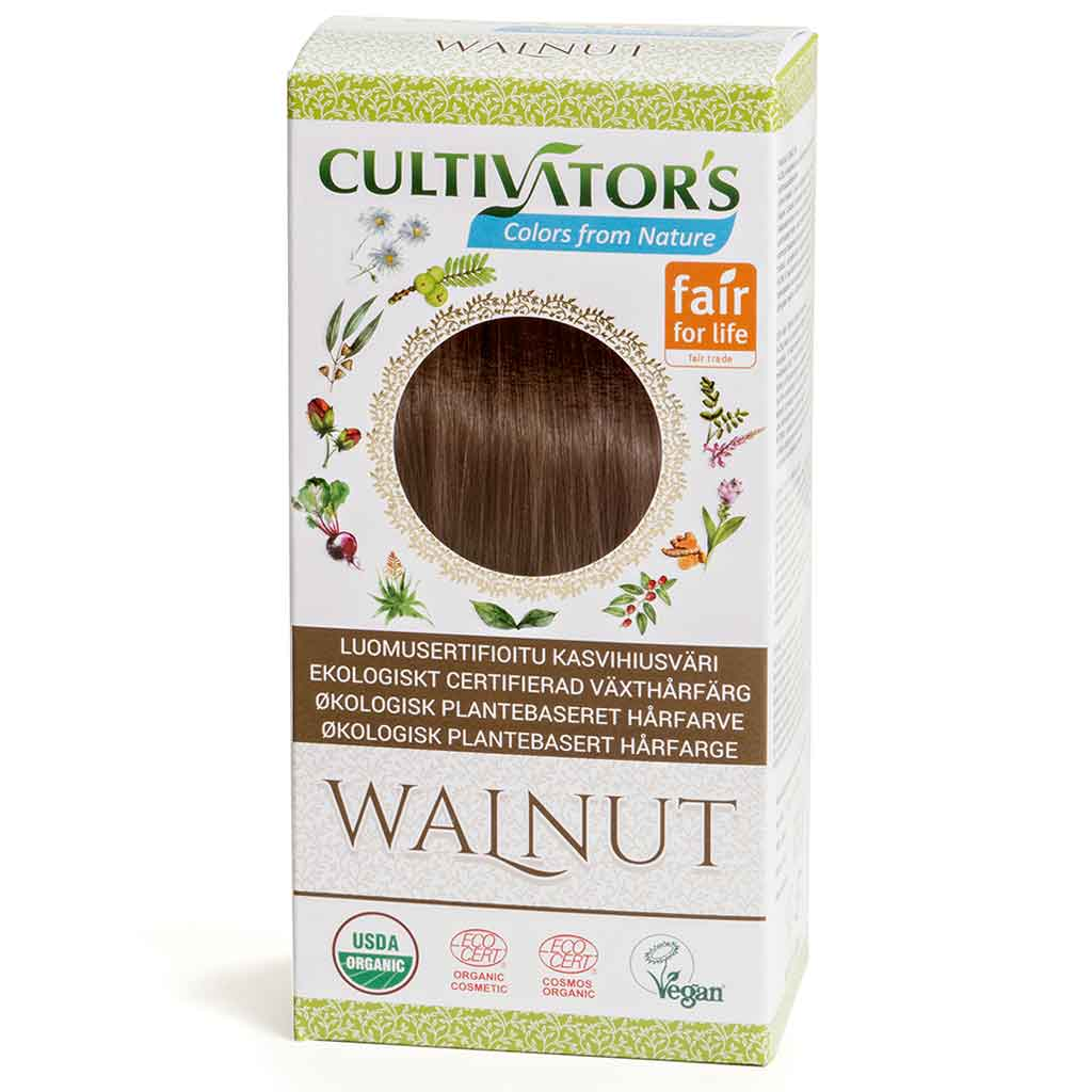 Cultivator's Hair Color - Walnut 100g *