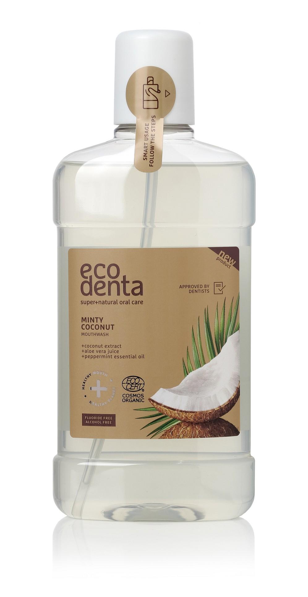 Ecodenta Minty Coconut Mouthwash, Suuvesi 500ml