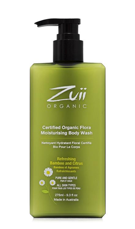 Zuii Organic Kosteuttava Suihkugeeli 275 ml