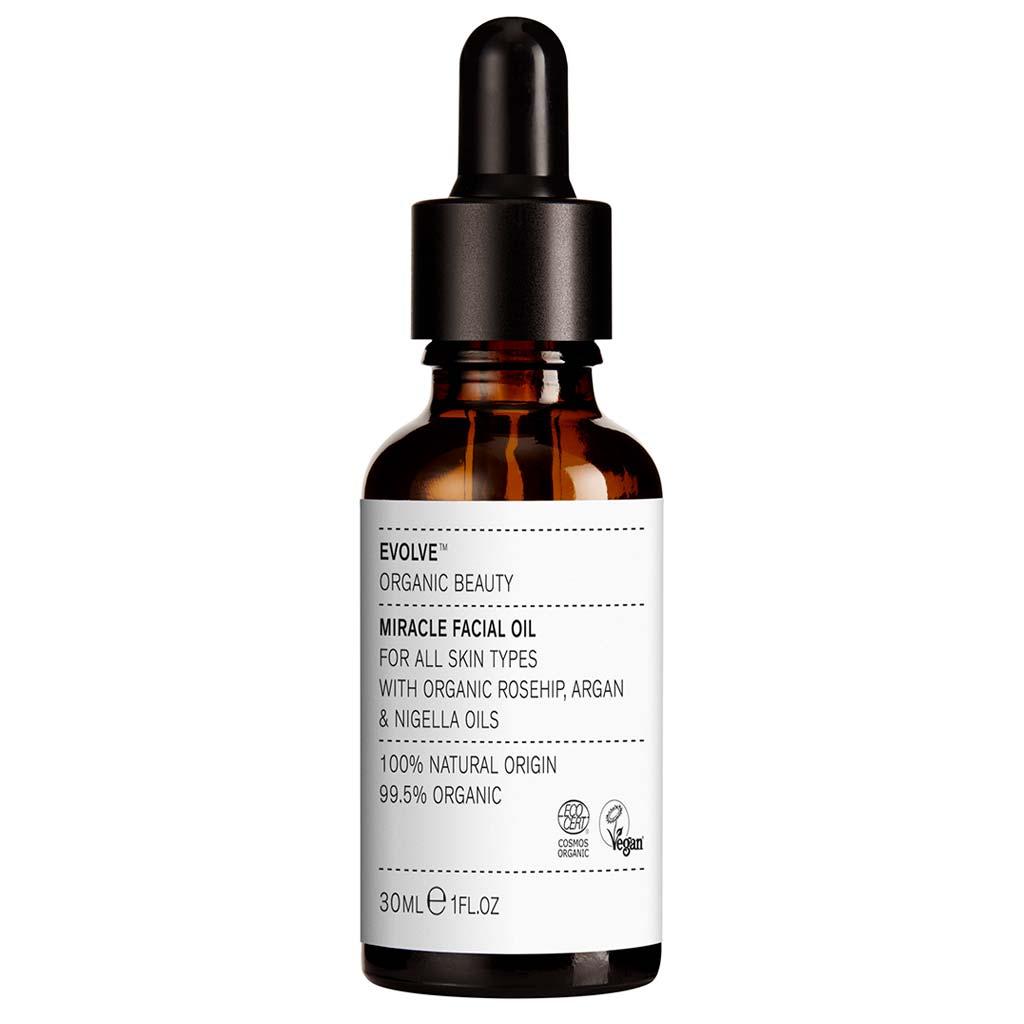 Evolve Organic Beauty Miracle Facial Oil Tuhkimo kasvoöljy 30ml