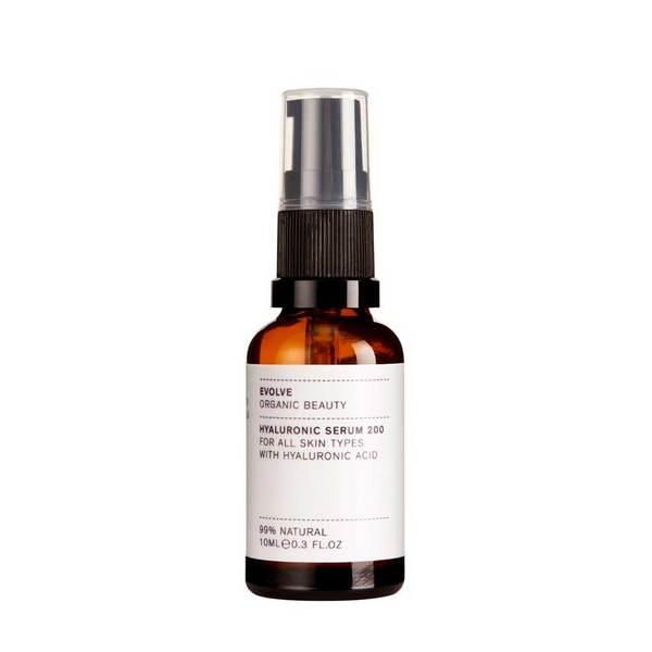 Evolve Organic Beauty Hyaluronic Serum Hyaluronihappo seerumi 10ml Travel Size