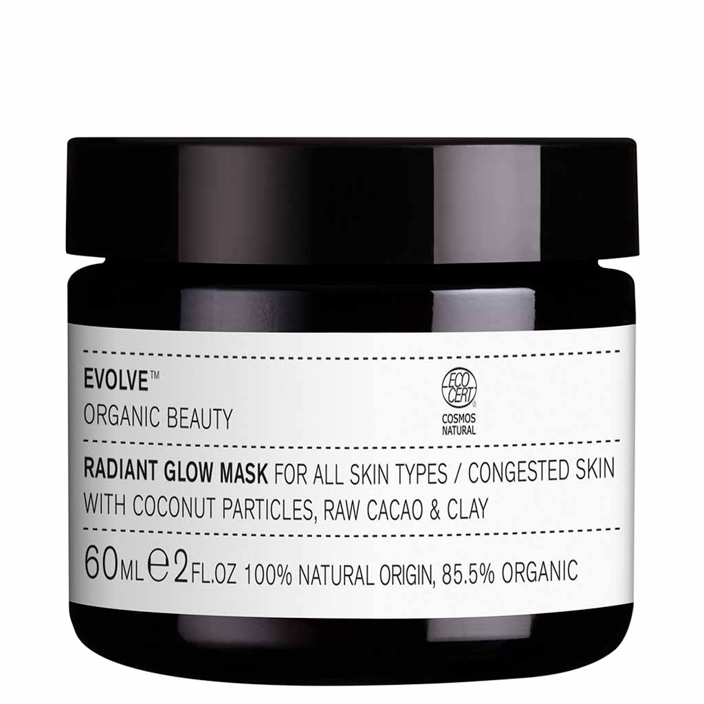 Evolve Organic Beauty Radiant Glow Mask Kasvonaamio 60ml