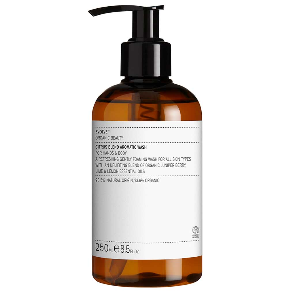 Evolve Organic Beauty Citrus Blend Aromatic Wash Vartalonpesuaine 250ml