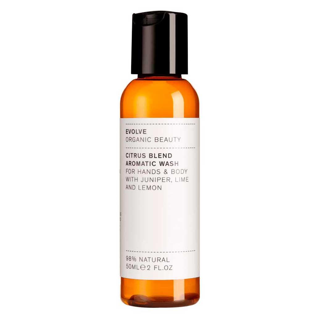 Evolve Organic Beauty Citrus Blend Aromatic Wash Vartalonpesuaine Matkakoko 50ml