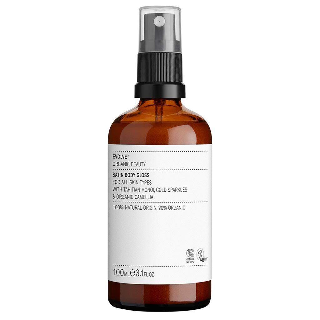 Evolve Organic Beauty Satin Body Gloss Kuivaöljy 100ml