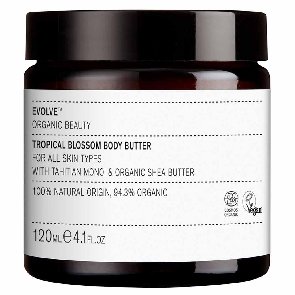 Evolve Organic Beauty Tropical Blossom Body Butter Vartalovoi 120ml