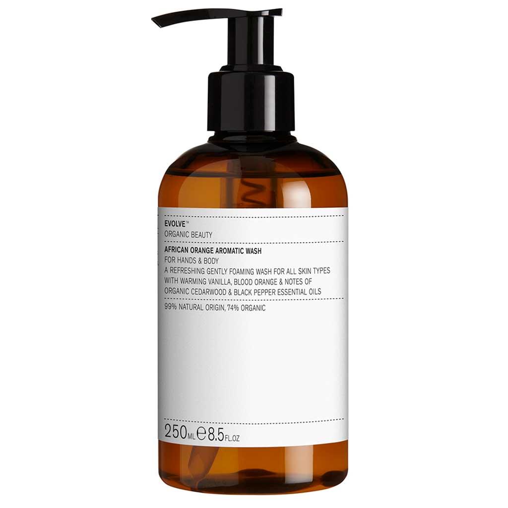 Evolve Organic Beauty African Orange Aromatic Wash Vartalonpesuaine 250ml