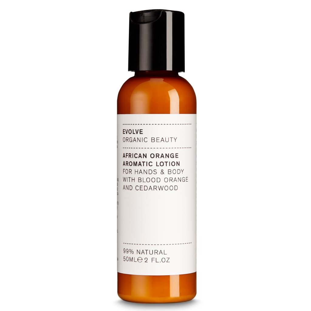 Evolve Organic Beauty African Orange Aromatic Lotion Matkakoko 50 ml