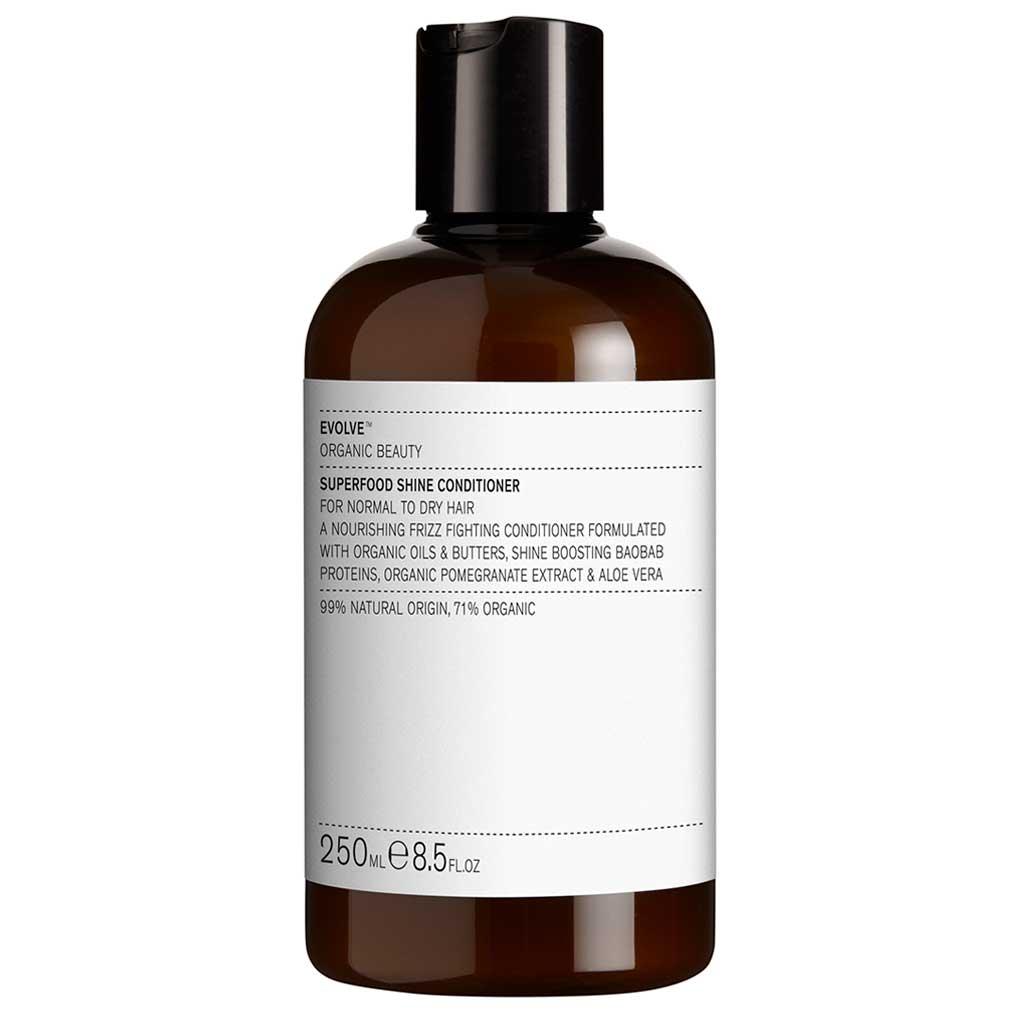 Evolve Organic Beauty Superfood Shine Conditioner Hoitoaine 250ml