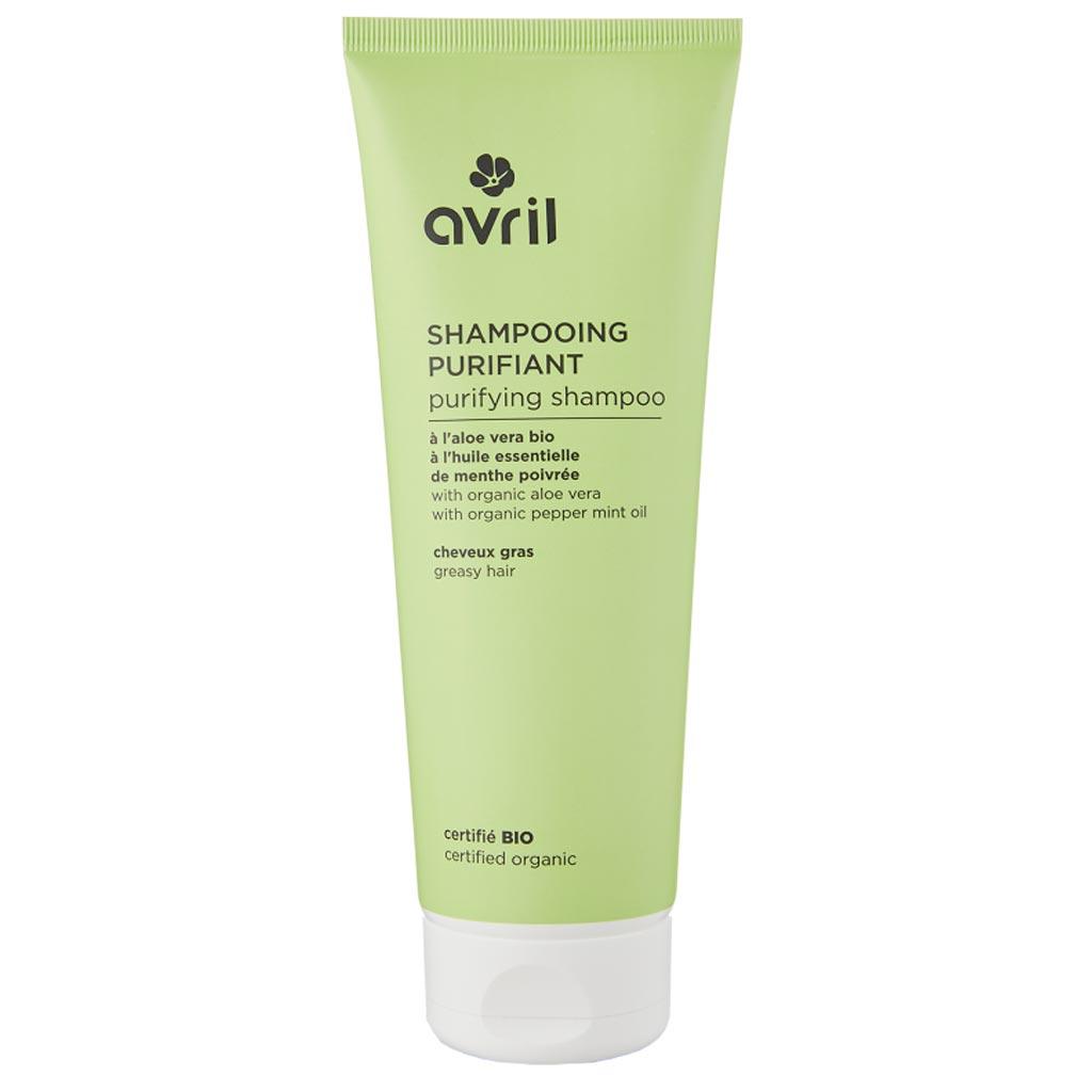 Avril Organic Shampoo Rasvoittuville hiuksille 250ml