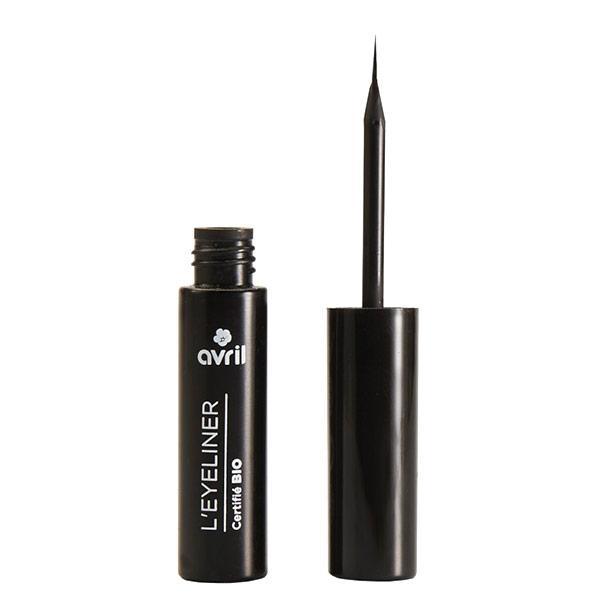 Avril Organic Nestemäinen eyeliner Musta