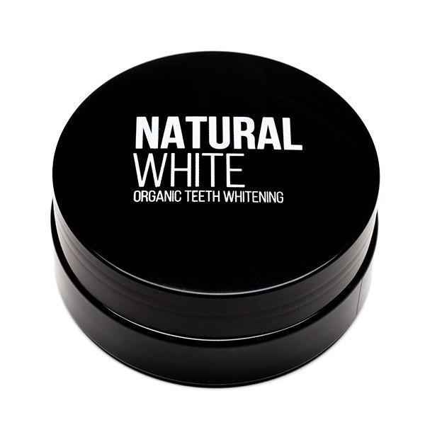 Natural White Luonnollinen Hampaidenvalkaisujauhe