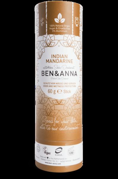 Ben & Anna Deodorantti Indian Mandarine - Papertube