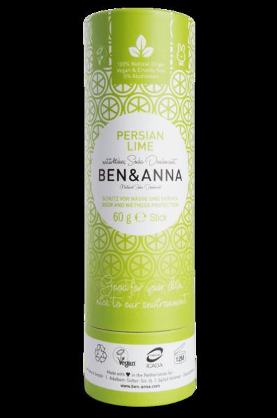 Ben & Anna Deodorantti Persian Lime - Papertube