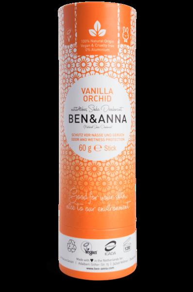 Ben & Anna Deodorantti Vanilla Orchid - Papertube