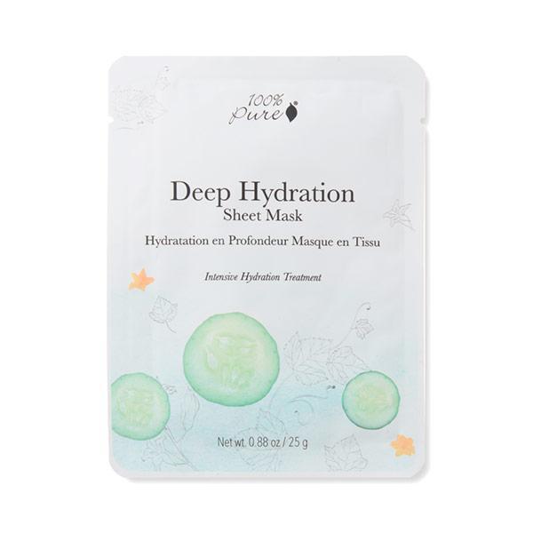 100% Pure Deep Hydration Kasvonaamio